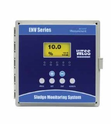 ENV200 Ultrasonik Çamur Yoğunluk Ölçer (Flanş Tipi)